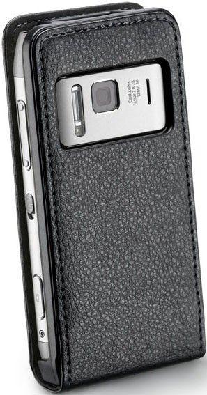 Чехол-флип Flap Essential для Nokia N8 Black - Фото 1