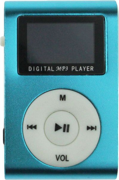 TOTO TPS-05-FM With display&Earphone Mp3 Blue - фото