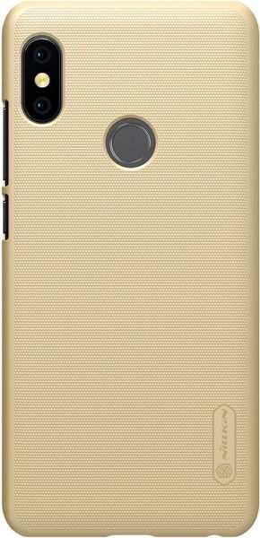 Nillkin Super Frosted Shield Xiaomi Redmi Note 5 Gold - фото