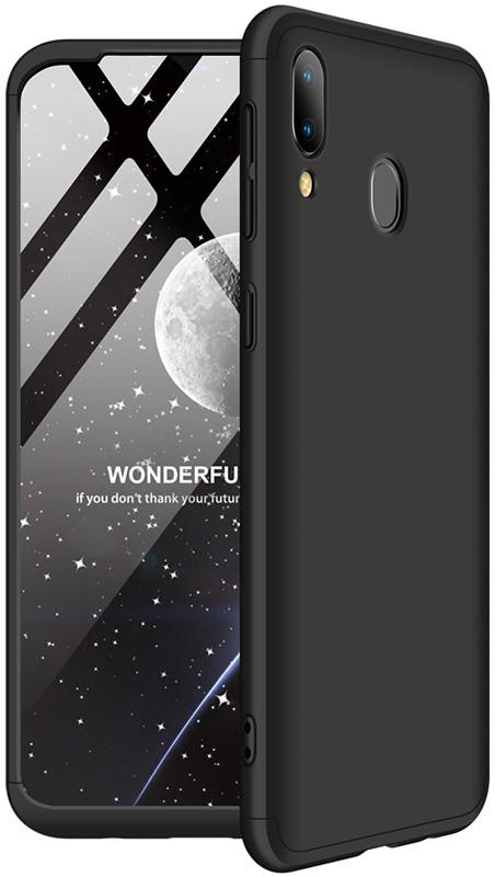 GKK 3 in 1 Hard PC Case Samsung Galaxy M20 Black