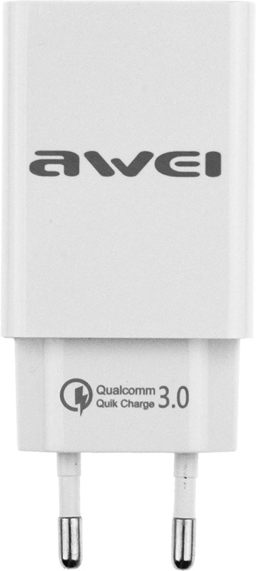 AWEI C-820 Travel charger 1USB 2.0A QC 3.0 White