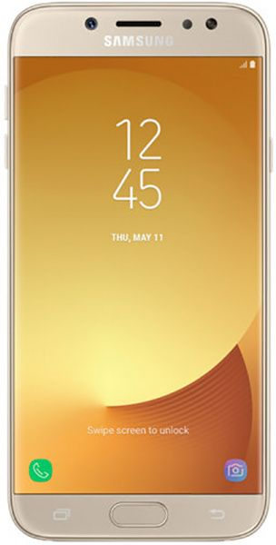 Samsung Galaxy J7 J730F 2017 Gold - фото