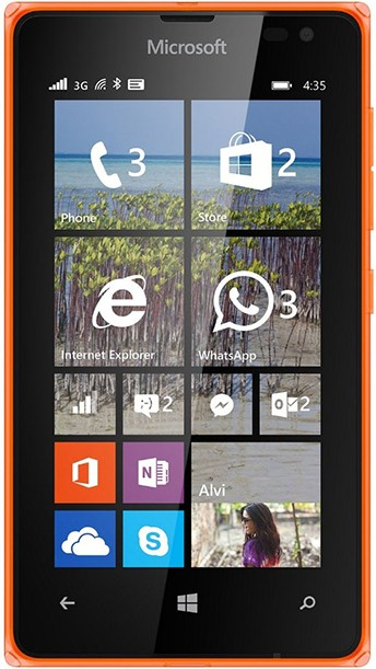 Смартфон Microsoft Lumia 435 Dual SIM Orange - Фото 1