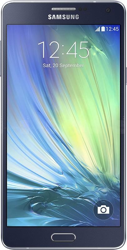 Смартфон Samsung Galaxy A7 A700H/DS Black - Фото 1
