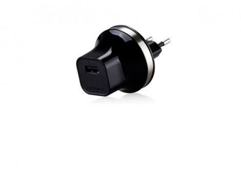 Сетевое зарядное устройство Momax XC Micro USB Black - Фото 1