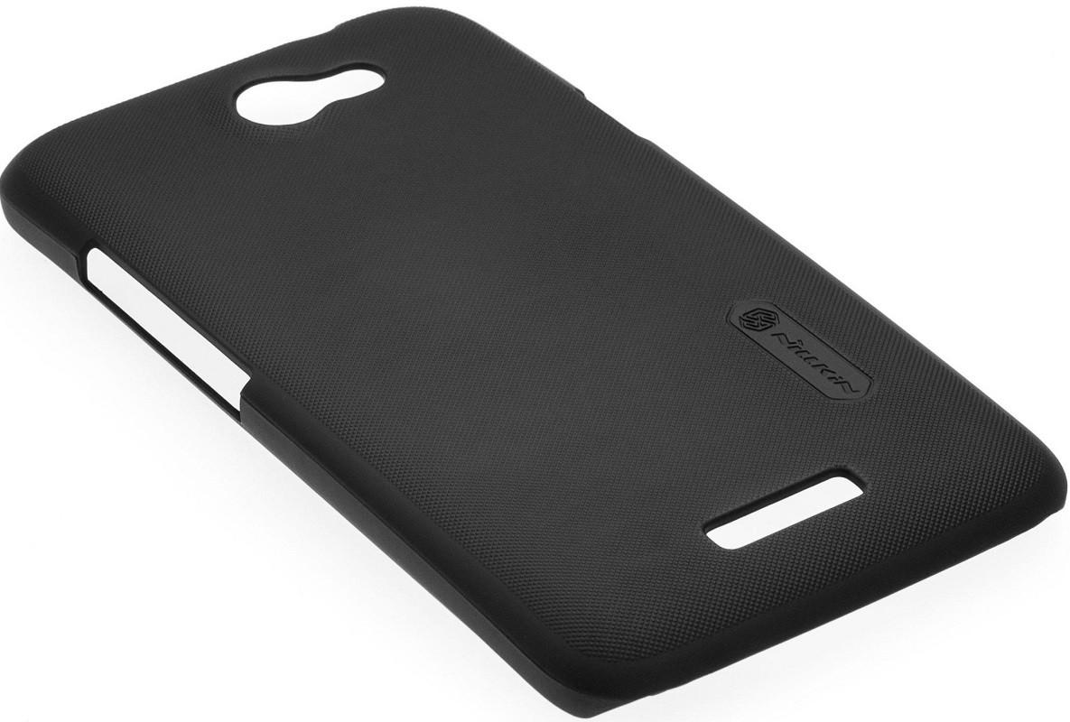 Чехол-накладка Nillkin Matte HTC Desire 400 (+пленка) Black/Brown - Фото 1