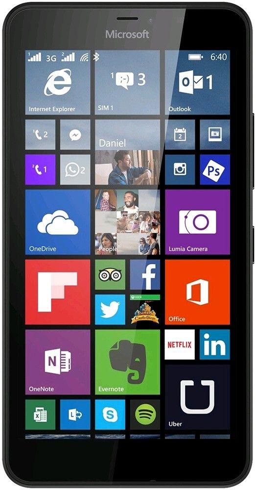 Смартфон Microsoft Lumia 640 Dual SIM Cyan - Фото 1