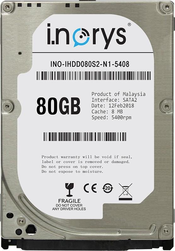 Купить Жесткие диски, i.norys HDD 2.5 SATA 80 GB (INO-IHDD080S2-N1-5408)