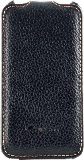 Чехол-флип Melkco Jacka Crocodile для iPhone 4/4S Black - Фото 1
