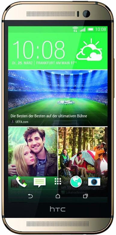 Смартфон HTC One M8 Gold - Фото 1