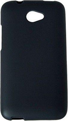 Чехол-накладка Drobak Elastic PU для HTC Desire 601 Black - Фото 1