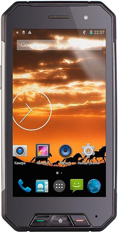 Смартфон Sigma mobile X-treme PQ27 Black - Фото 1