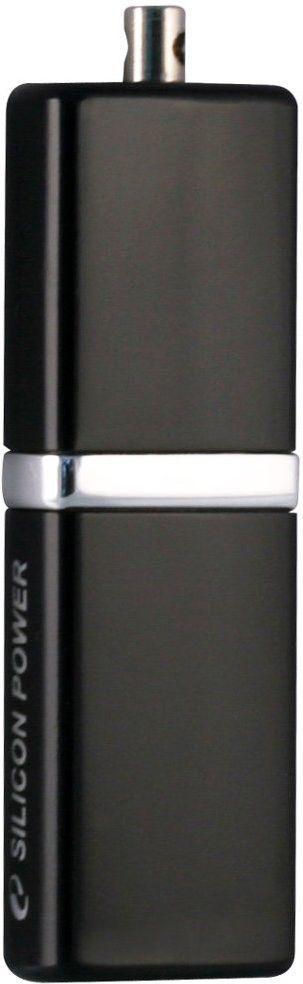 USB Flash Silicon Power LUX mini 710 4Gb Black - Фото 1