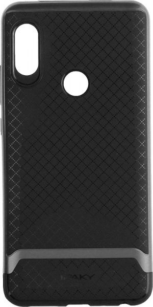 Ipaky Bumblebee PC Frame with TPU Case Xiaomi Redmi Note 5 Gray - фото