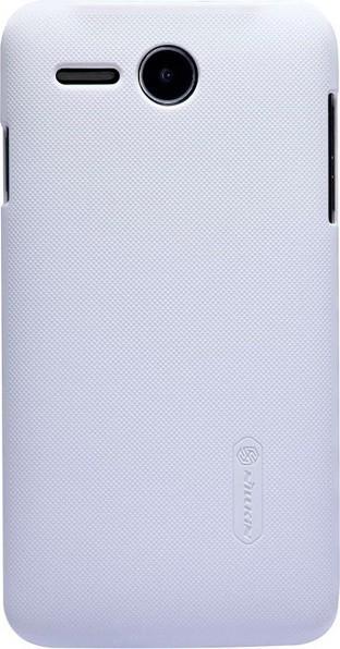 Чехол-накладка Nillkin Super Frosted Shield Lenovo A680 White - Фото 1