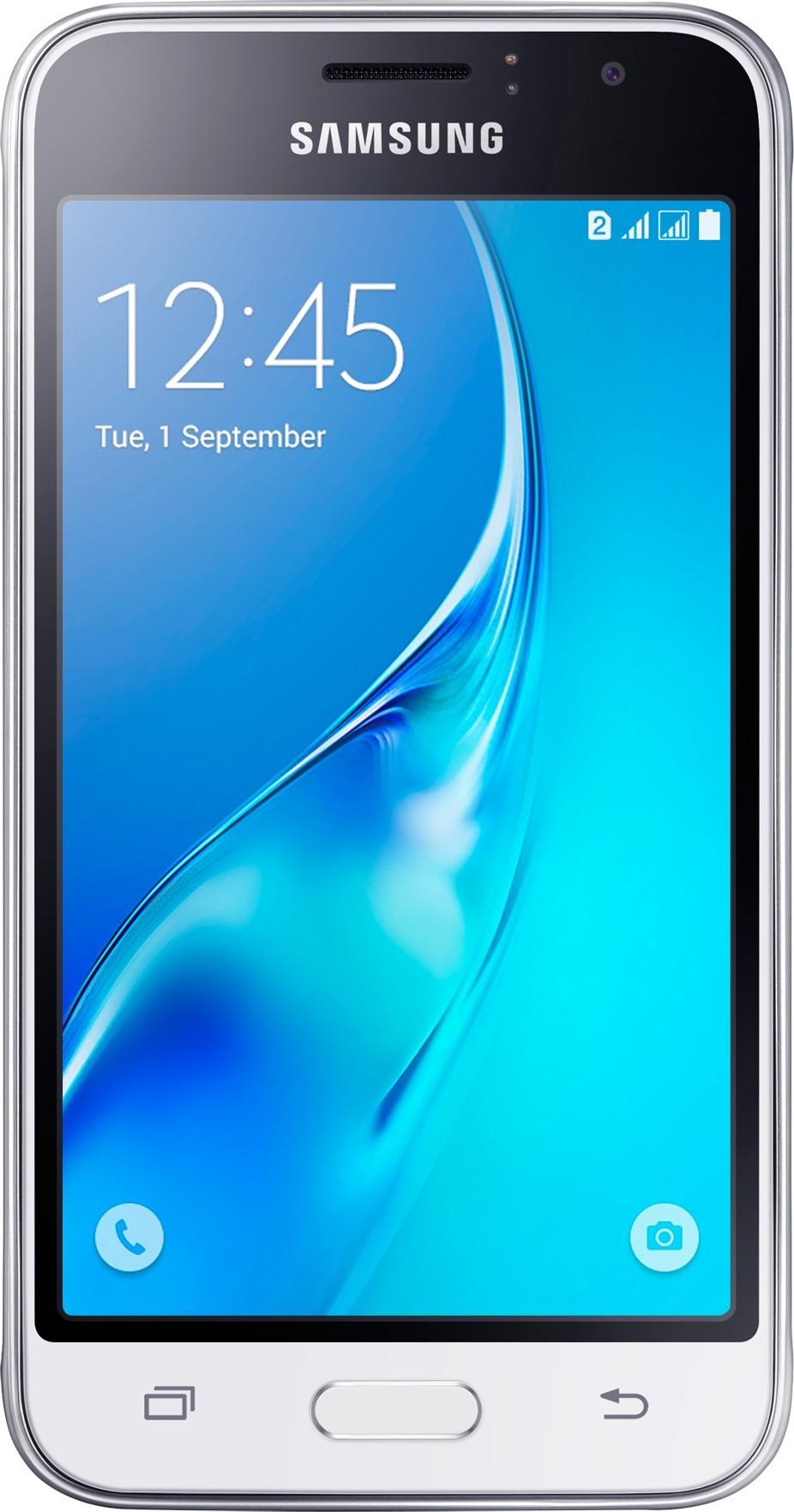 Смартфон Samsung Galaxy J1 J120H 2016 White - Фото 1