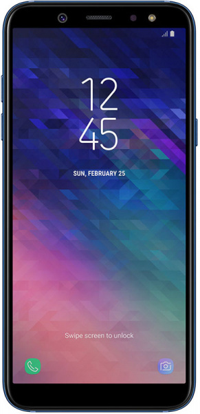 Samsung Galaxy A6 4/64GB Blue - фото