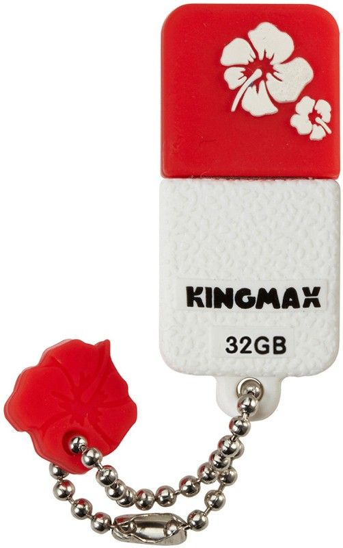 USB Flash Kingmax UI-01 32Gb Red - Фото 1