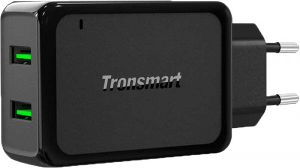 Tronsmart W2TF 36W Dual Port Qualcomm Quick Charge 3.0&VoltiQ Wall Charger - фото