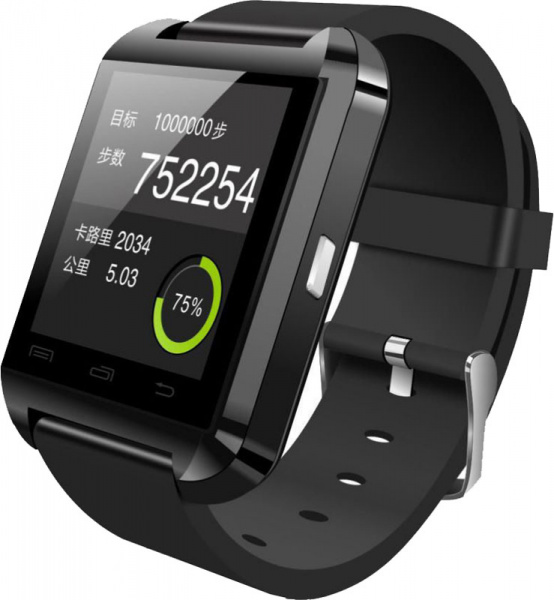 UWatch U8 Black - фото