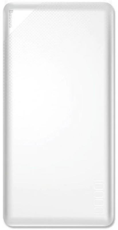Купить Портативные батареи, Baseus Mini Cu power bank Dual USB 10000mAh White