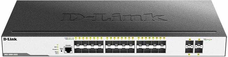 Купить Коммутаторы, D-Link DGS-3000-28XS