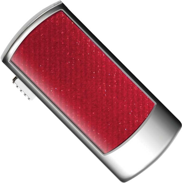 USB Flash Transcend JetFlash V95 Deluxe 4Gb Red - Фото 1