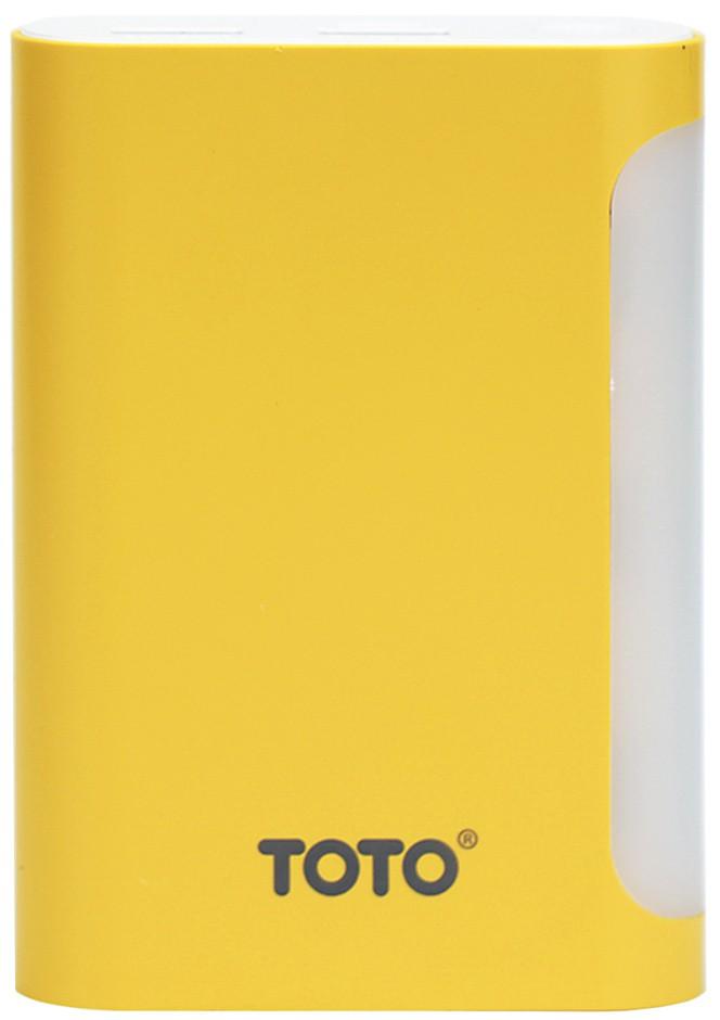 Портативная батарея TOTO TBG-48 Power Bank 7500 mAh 2USB 3,1A Li-Ion Yellow - Фото 1
