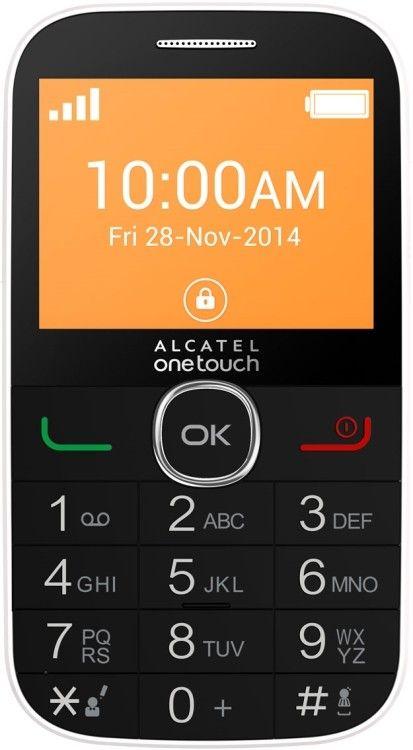 Мобильный телефон Alcatel One Touch 2004G White - Фото 1