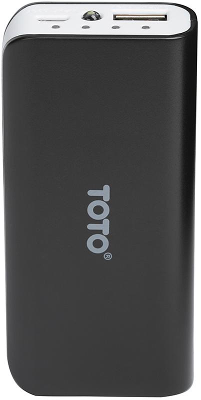 Портативная батарея TOTO TBG-82 Power Bank 4000 mAh 1USB 1A Li-Ion Black - Фото 1