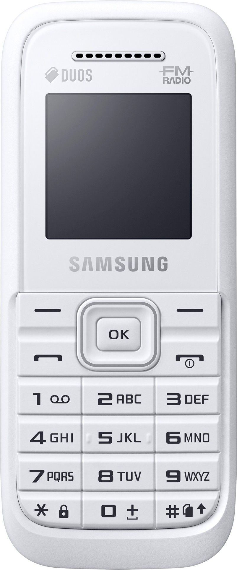 Мобильный телефон Samsung B110E White - Фото 1