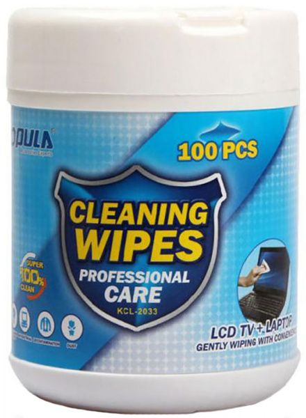 Opula KCL-2033 Wet Cleaning Cloth 100 pcs - фото