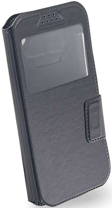 "Чехол-книжка Mobiking Universal Book Cover Soft Touch Slider 3.8"" Black"