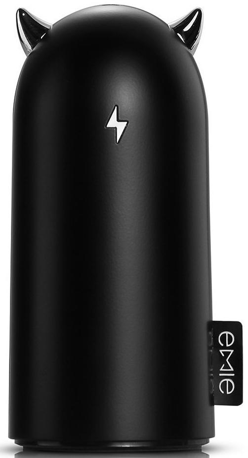 Портативная батарея EMIE Devil Volt S5200 Power Bank 5200 mAh Black - Фото 1