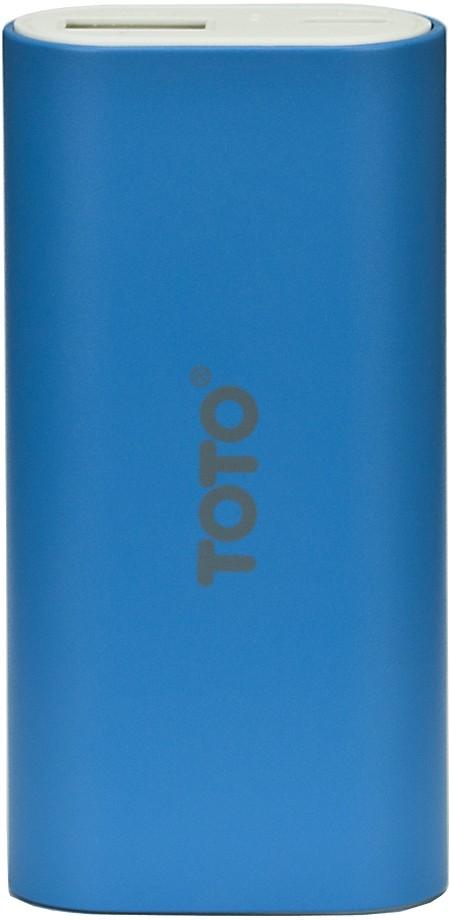 Портативная батарея TOTO TBG-18 Power Bank 5000 mAh 1USB 1A Li-Ion Blue - Фото 1