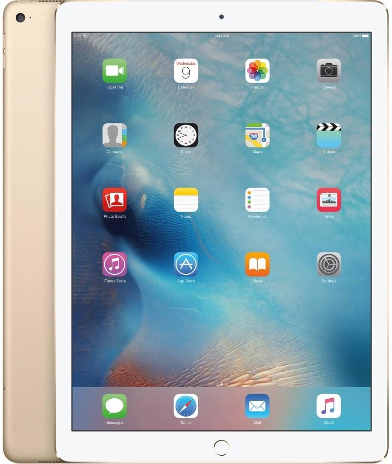 Планшет Apple A1584 iPad Pro 12.9 Wi-Fi 32GB (ML0H2RK/A) Gold - Фото 1