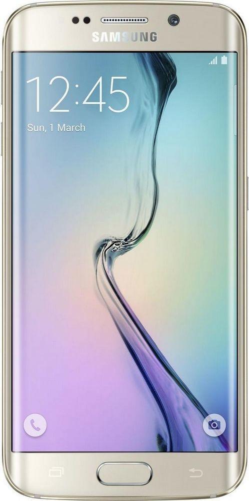Смартфон Samsung Galaxy S6 Edge G925 64GB Gold - Фото 1