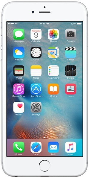 Смартфон Apple iPhone 6s Plus 16GB Silver - Фото 1