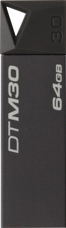 USB Flash Kingston DataTraveler M30 Mini 64Gb USB 3.0 Grey - Фото 1