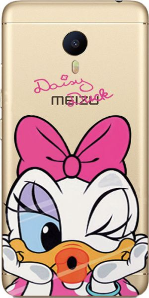 TOTO TPU case Disney Meizu M3 note Daisy Duck - фото