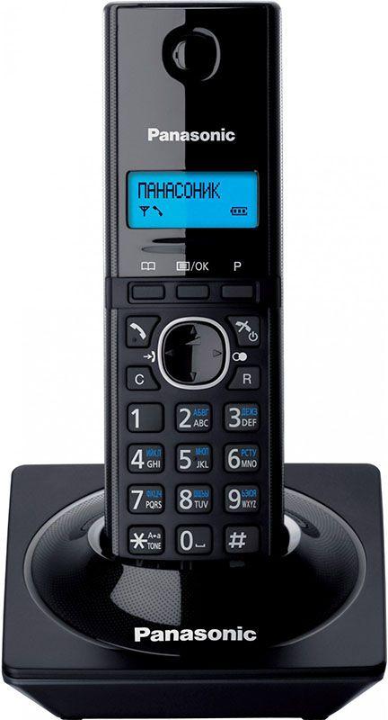 Купить Радиотелефоны, Panasonic KX-TG1711UAB Piano Black