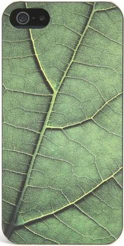 Чехол-накладка Tucano Delikatessen для iPhone 5/5S Зеленый - Фото 1