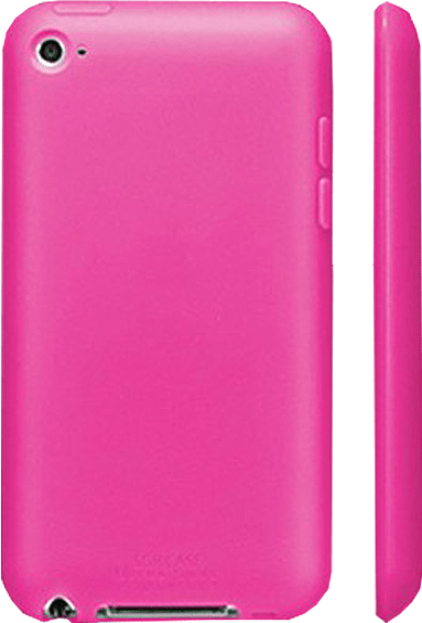 Чехол-накладка SGP Case Ultra Silke Fantasia Hot iPod Touch 4G Pink - Фото 1