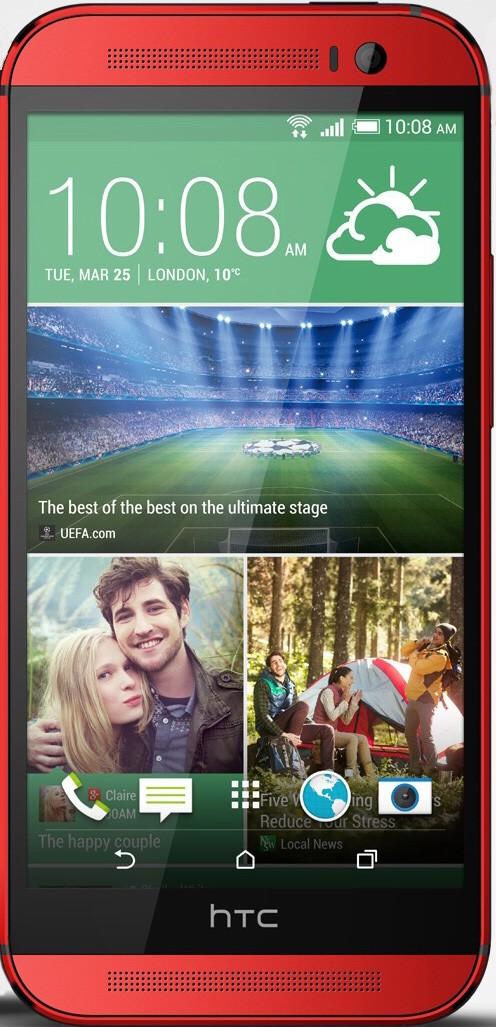 Смартфон HTC 801e One (M7) Red - Фото 1