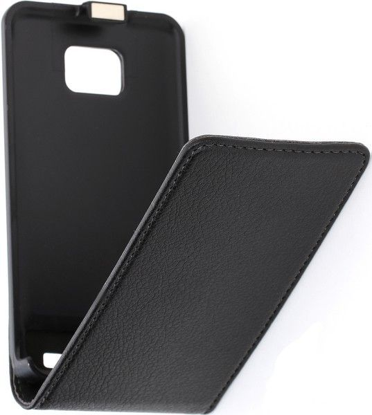 Чехол-флип Cellular Line Flap Essential для Samsung I9000 Black - Фото 1