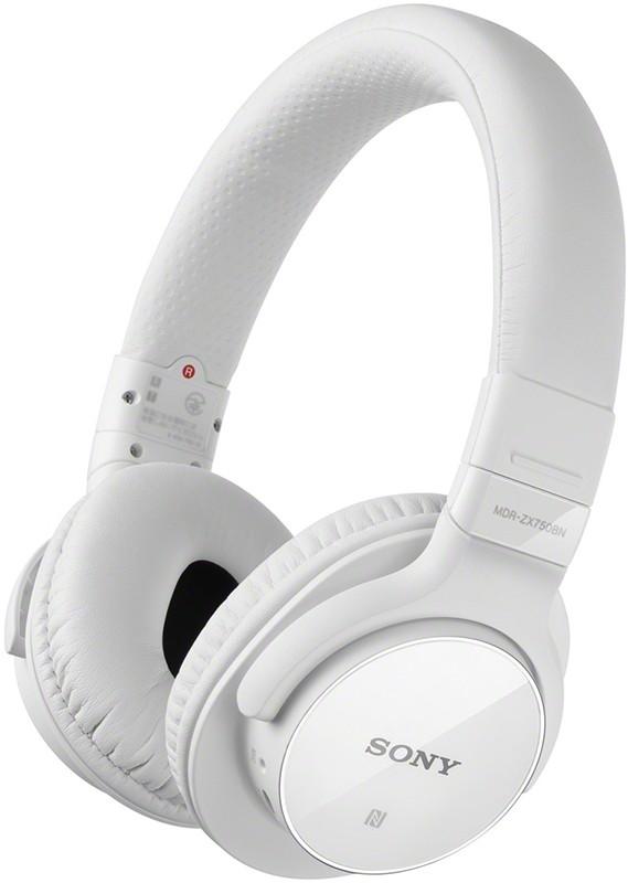 Наушники Sony MDR-ZX750BN White - Фото 1