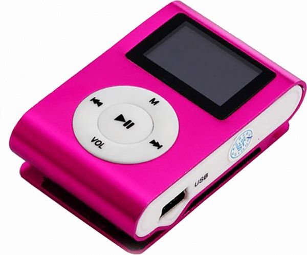 TOTO TPS-02 With display&Earphone Mp3 Pink - фото