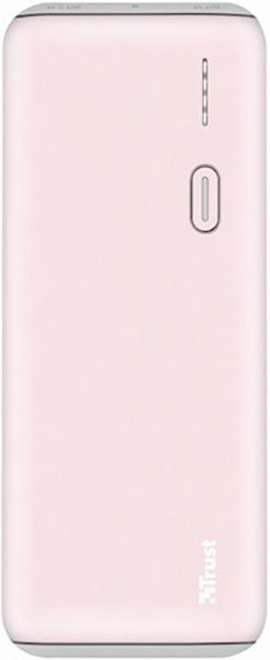Trust PWB-100 Power Bank 10000mAh Pink (22263) - фото