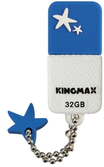 USB Flash Kingmax UI-01 32Gb Blue - Фото 1