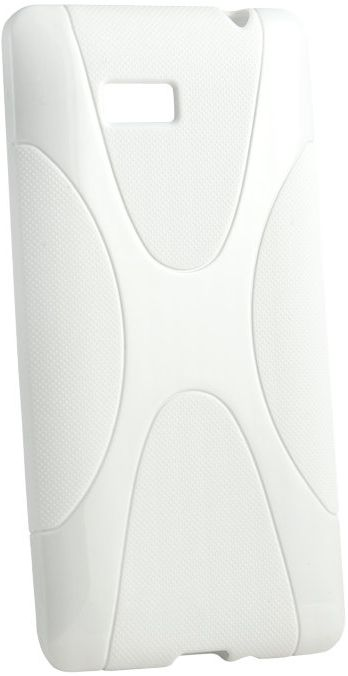 Чехол-накладка New Line X-series Case для Fly IQ4491 White - Фото 1